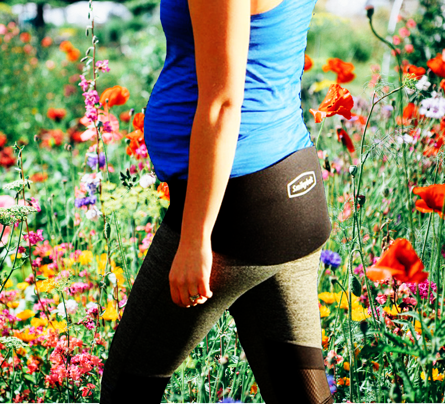 Pelvic girdle pain support belt - Smileybelt
